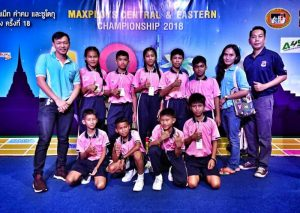 Students from Drop-In/ASEAN successfully attend the MAXPLOYS Central-Eastern Championship 2018