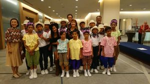 Performance of children from ASEAN Education Center
