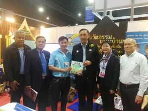 Minister of Social Development and Human Security pays visit to HHN Foundation booth