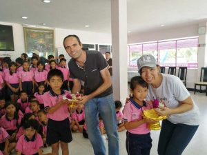 "Visit of ""Youth With A Mission"" at Drop-In/ASEAN Education Center"