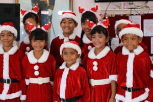 Christmas Party at Drop -In Center