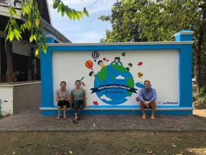 HHN Foundation Thailand supported by Lufthansa Pro Team for one month